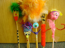 wooden puppets