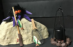 Anansi and the Moss Covered Rock Puppet