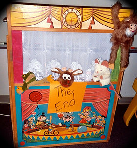 portable puppet theater