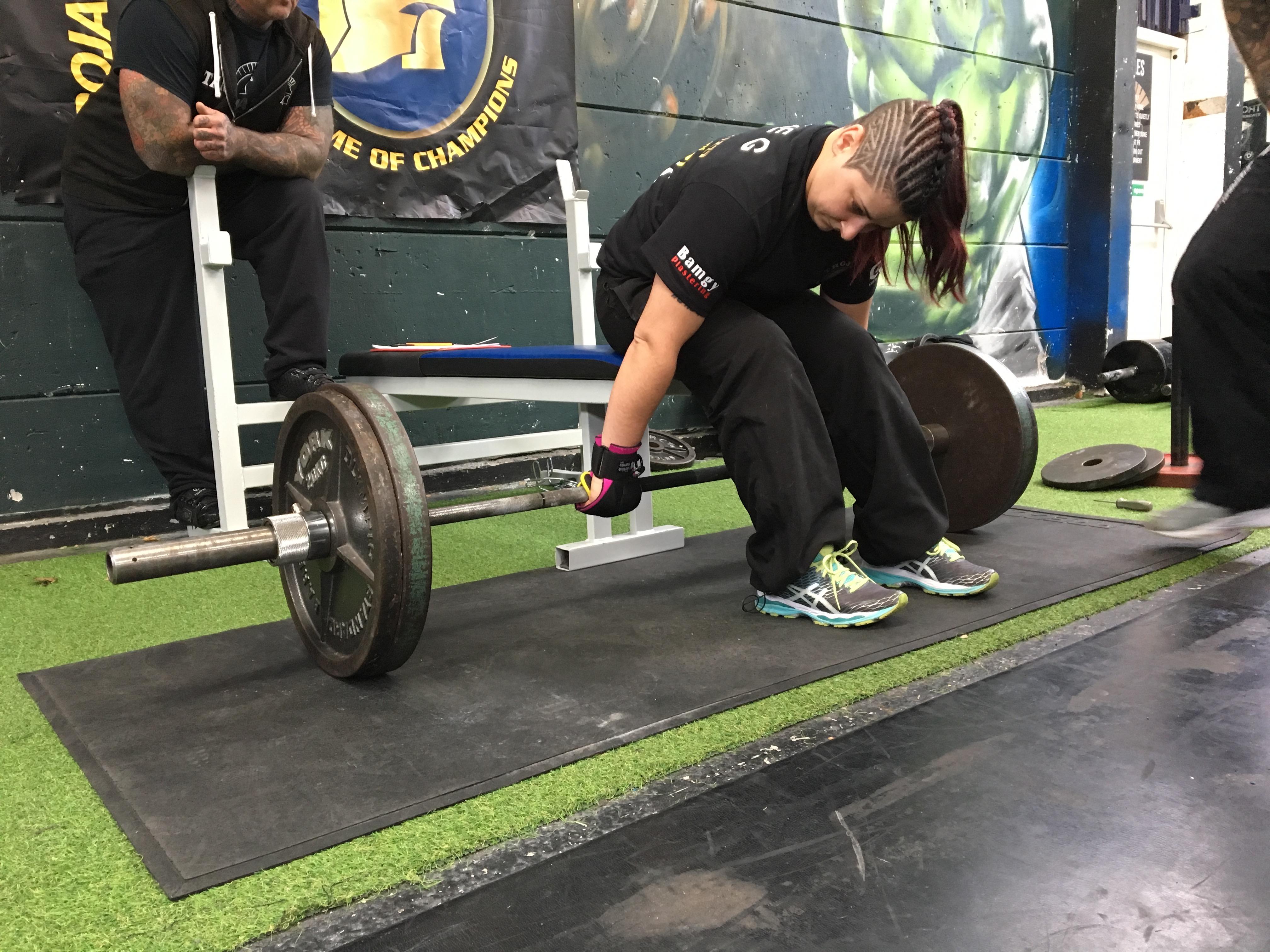 Gina Hopkins Adaptive Strongwoman