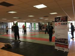 AMA class on the matts