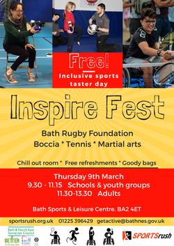 Inspire Fest Poster