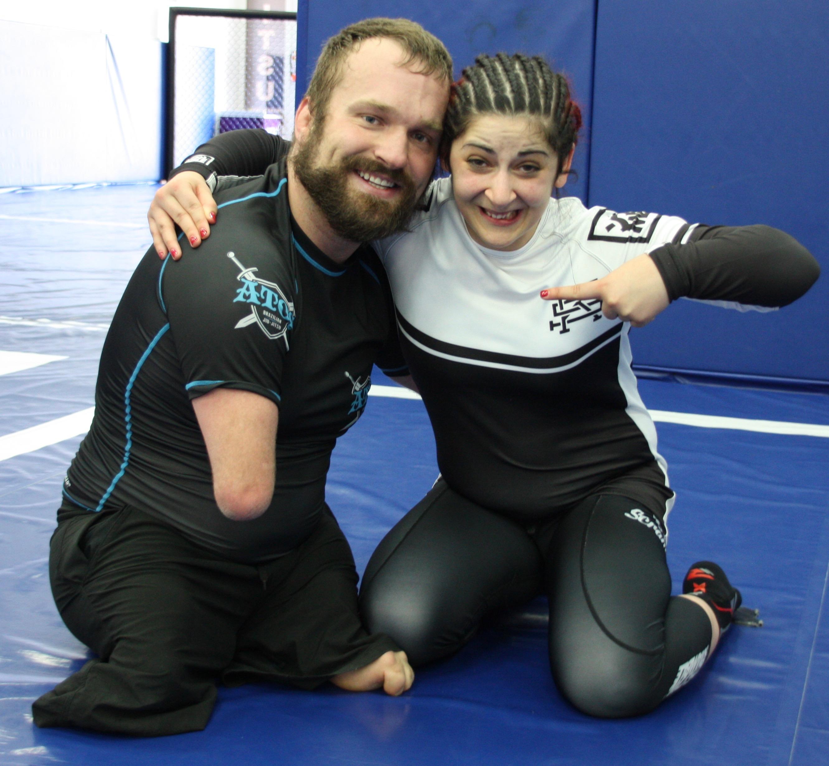 Gina and Kyle Meynard