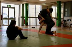 Double leg practice