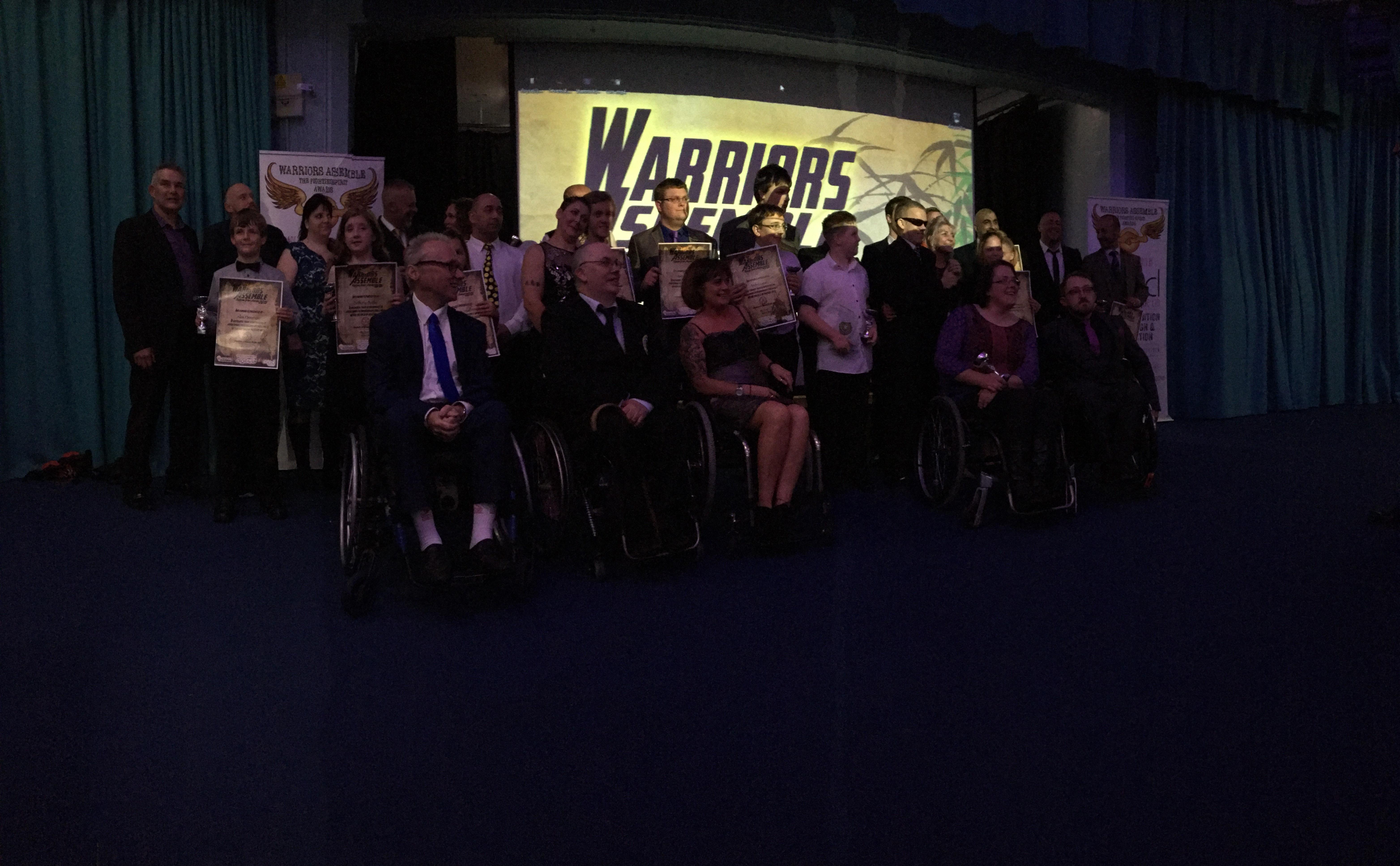 Warriors assembled 3