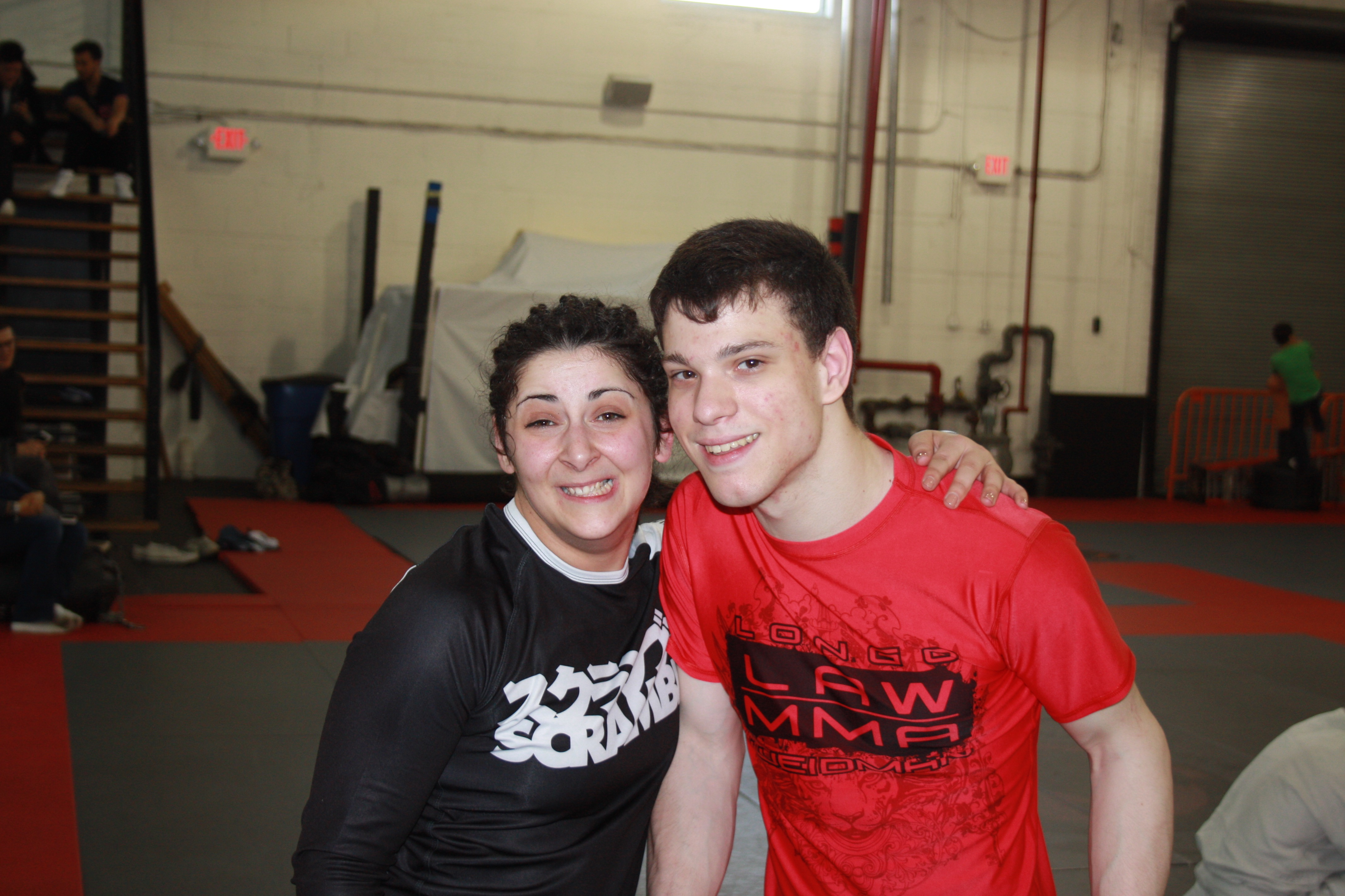 Gina and Ian