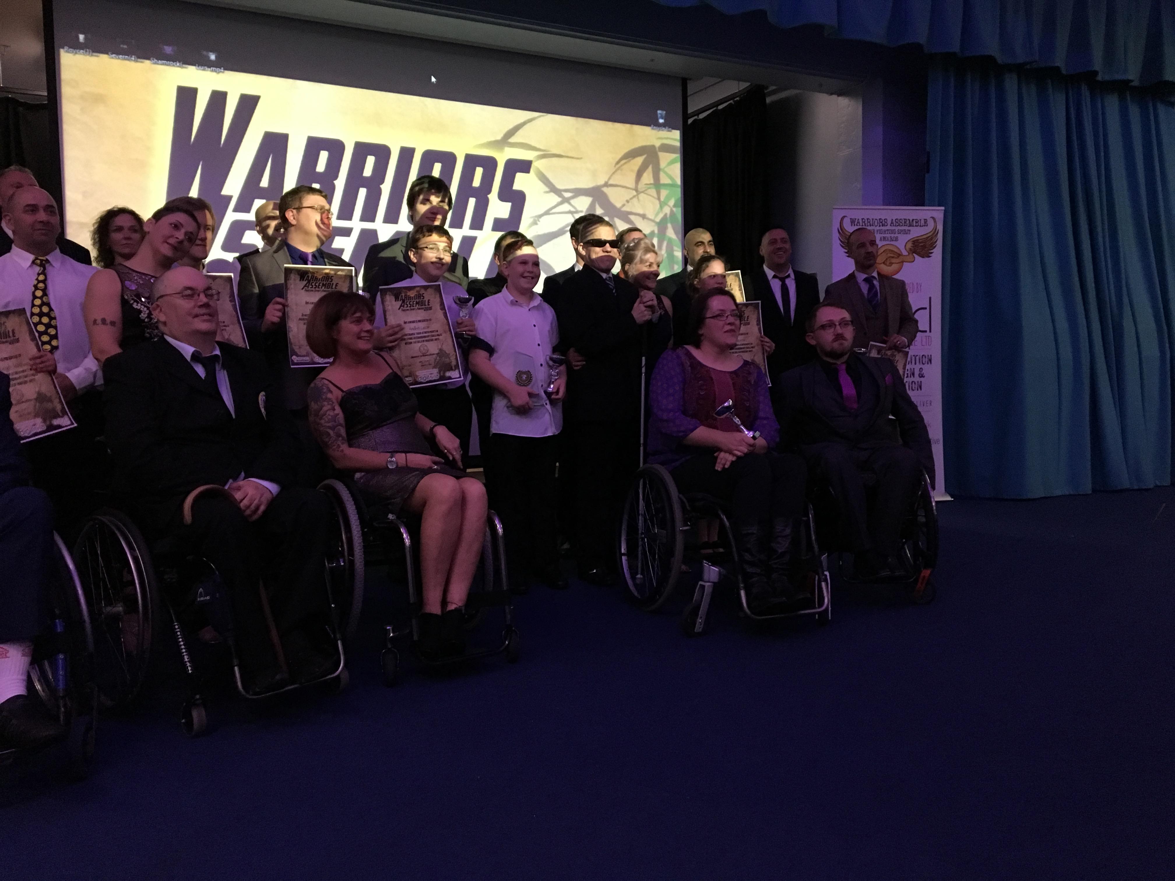 Warriors assembled 2