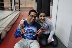 Gina and Brandon