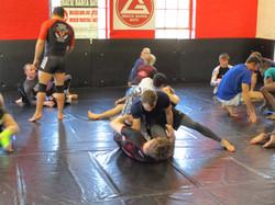 Daniel Strauss Side control practice