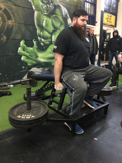 100KG Farmers Hold - Dave Walsh