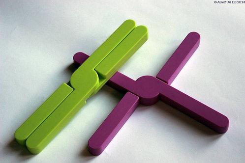 StayPut Silicon Trivet - Purple