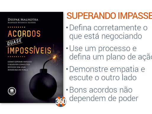 LIVROS | ACORDOS QUASE IMPOSSÍVEIS