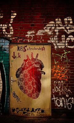 Heart, Street Art Künstler*: SC Szyman, Standort: Boddinplatz, Neukölln