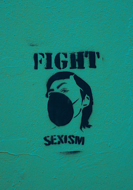 """FIGHT SEXISM"", unknown artist, Donaustr., Neukölln"