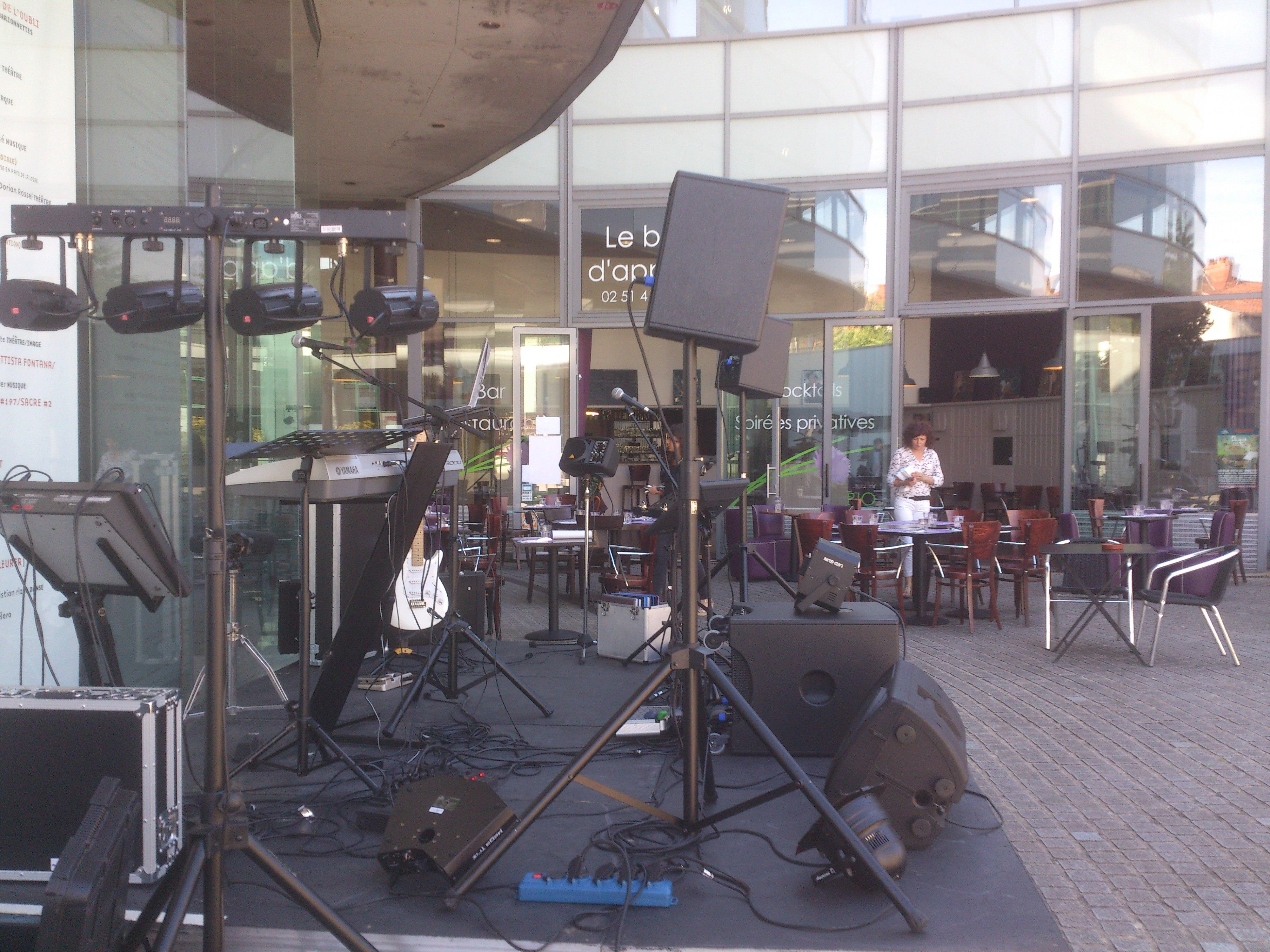 podium fête de la musique