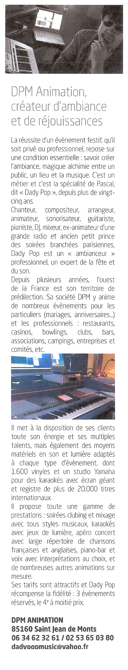 extrait article filon mag'
