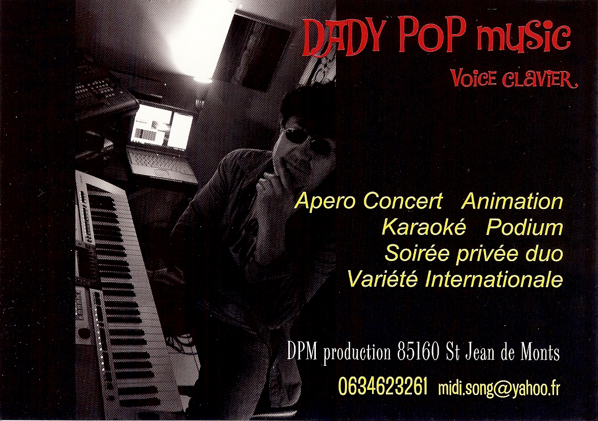 flyer Dady pop music