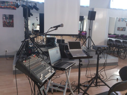 installation concert/karaoké