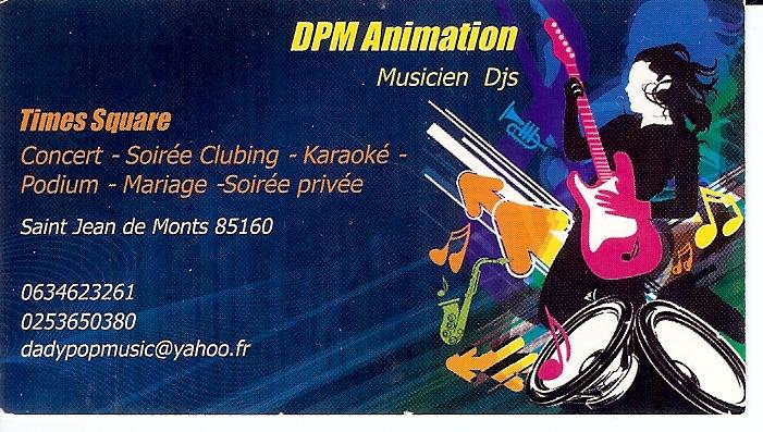 carte de visite DPM
