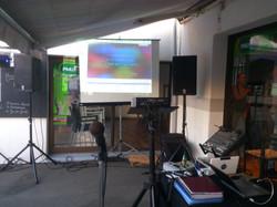 Karaoke  stand