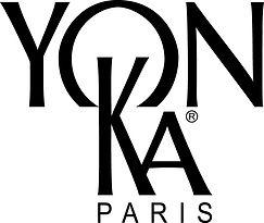 Logo noir sur blanc des soins Yon-Ka Paris