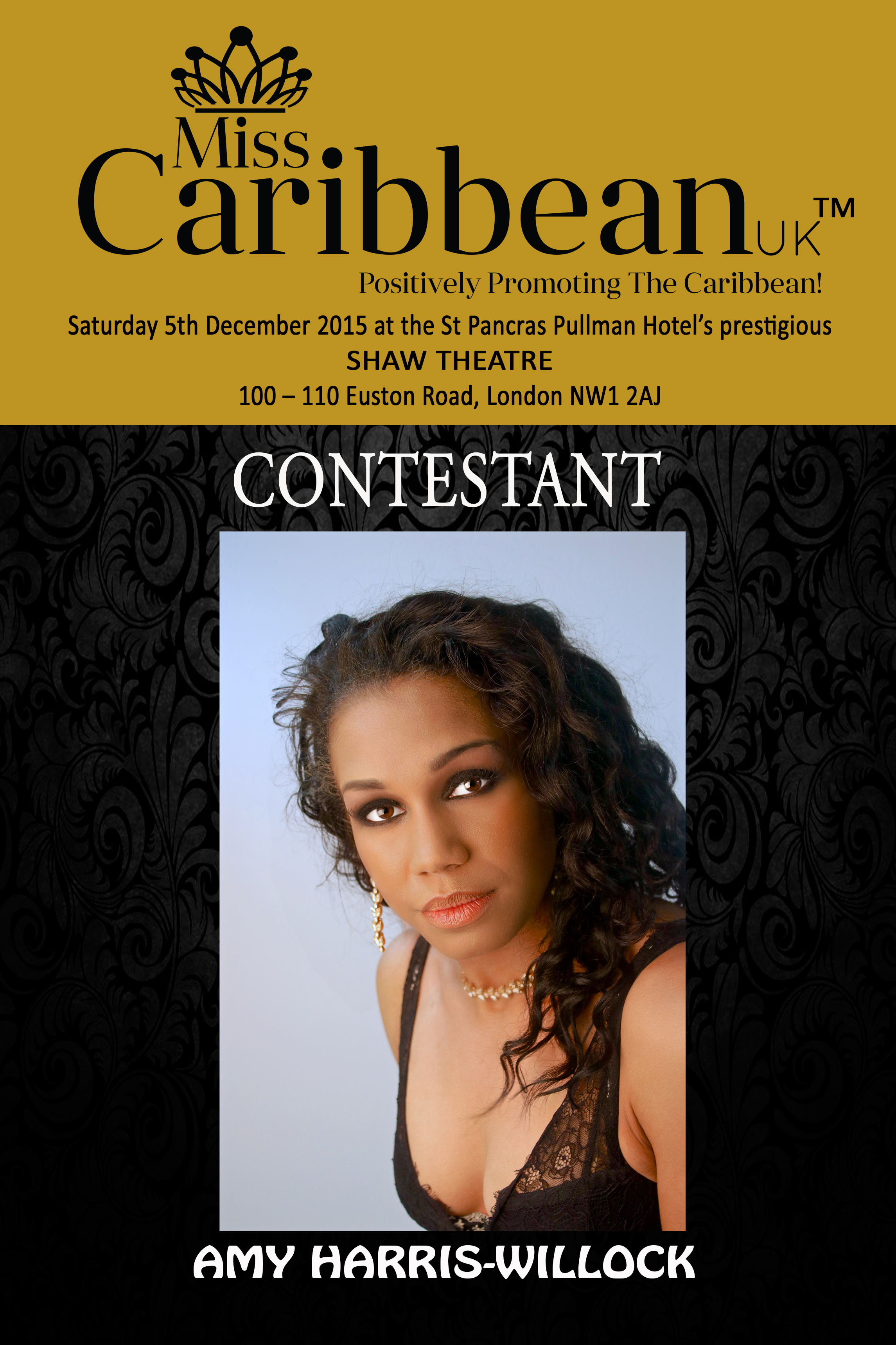 CONTESTANT - Amy Harris-Willock.