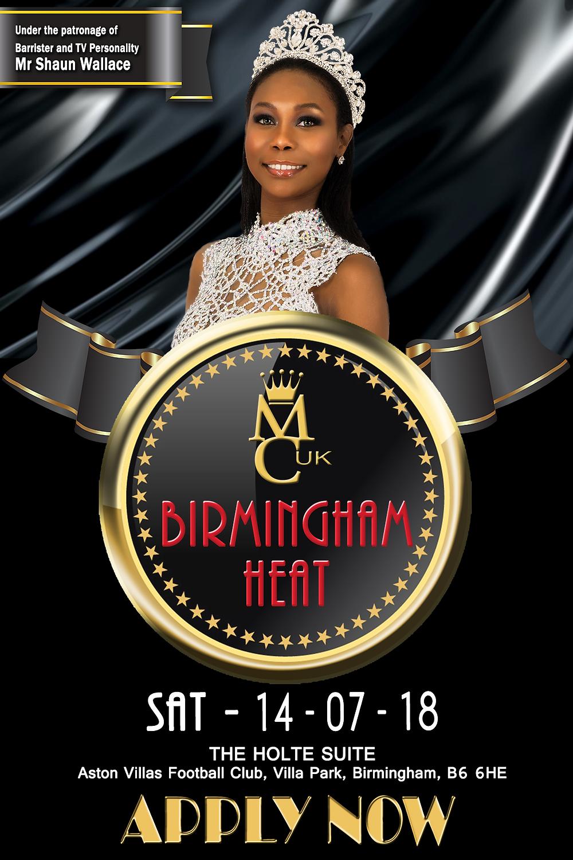 MCUK Birmingham Heat Flyer