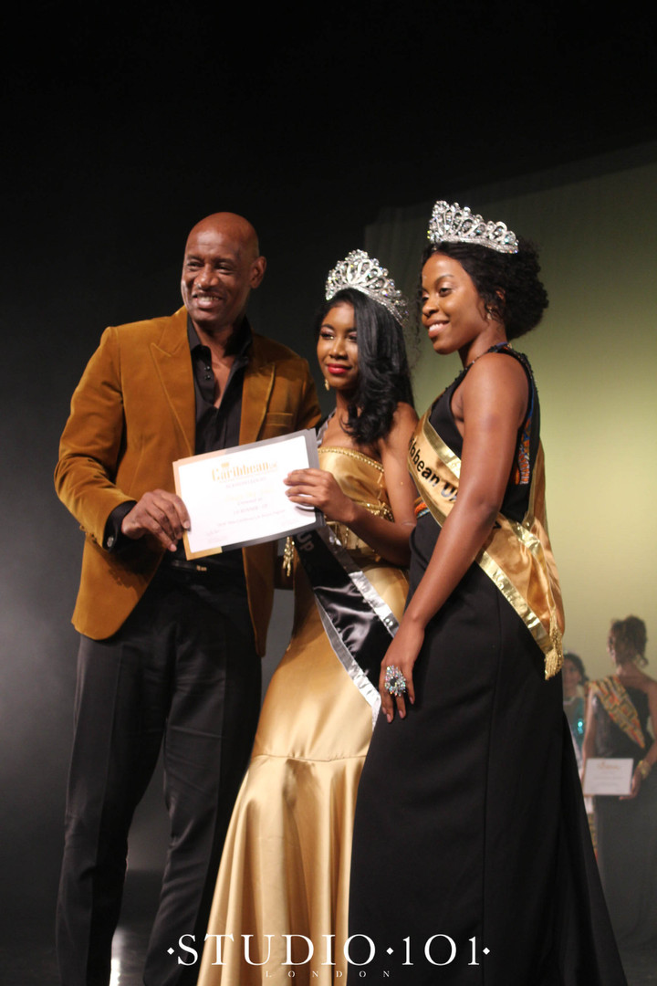 1st Runner Up: -  Mosique Daly-Vidal– Representing Dominica