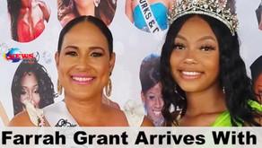 Newsline-TCI - Farrah Grant Arrives with Miss Caribbean UK Crown