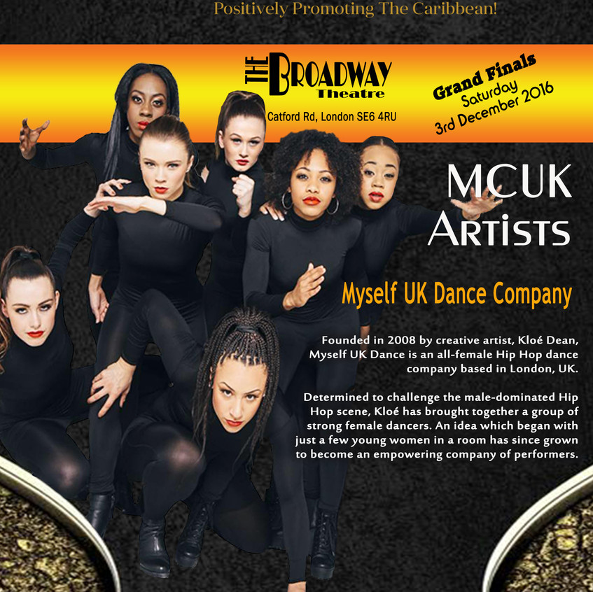 ANNOUNCEMENTS-Myself UK Dance