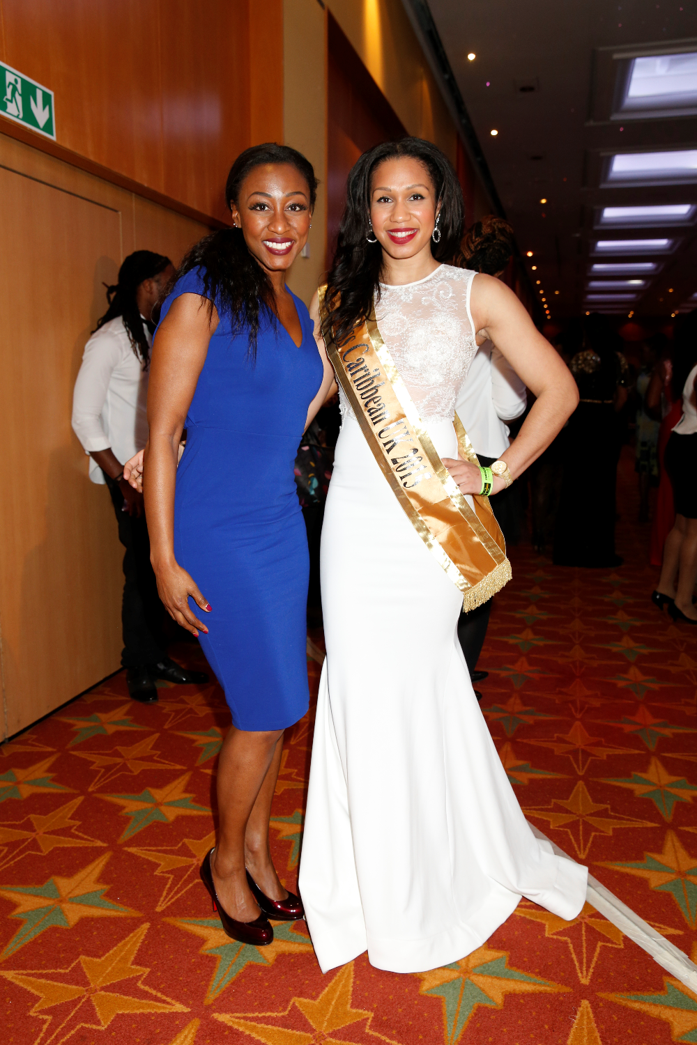 Amy Harris-Willock with Beverley Knight (recording artist)