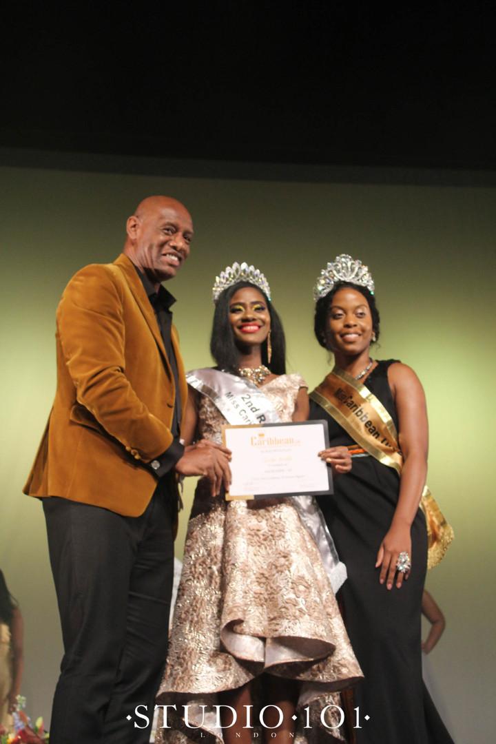 2nd Runner Up:  Tabitha Barnett– Representing Guyana