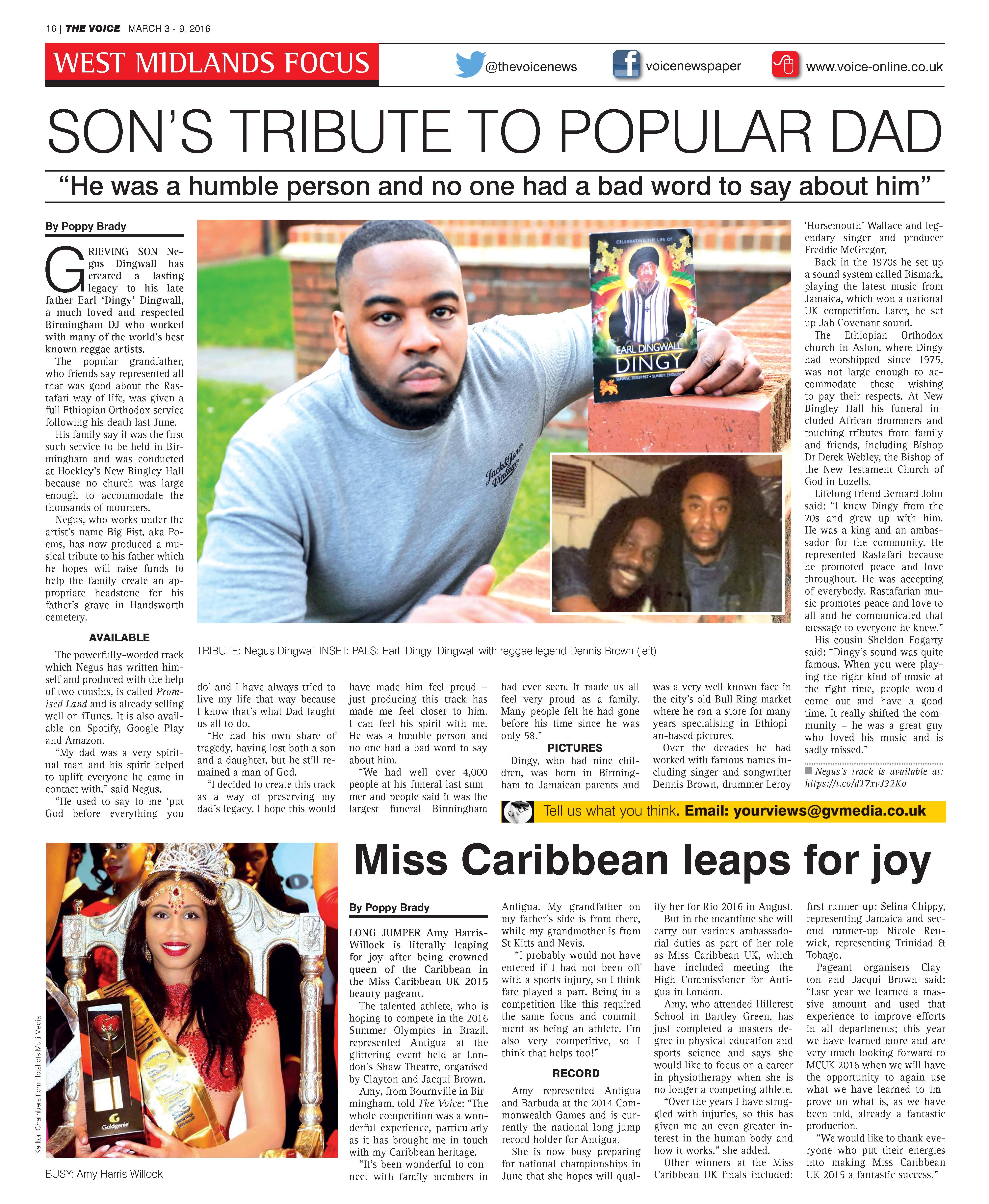 Miss Caribbean - The Voice