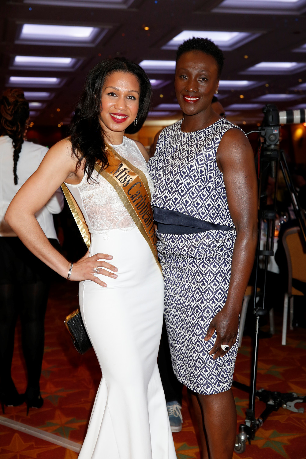 Amy Harris-Willock with Jackie Agyepong (ex Olympic athlete)