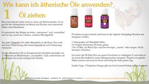 Anwendungsmöglichkeiten der ätherischen Öle --> #1