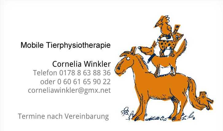 Tier Physio Winkler und Unterwasserlaufband