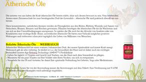 Beliebte ätherische Öle - Weihrauch