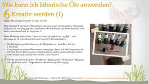Anwendungsmöglichkeiten der ätherischen Öle --> #6