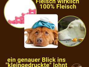 Hundesnacks - 100% reines Fleisch....