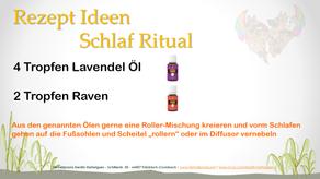 Rezept Ideen --> Schlaf Ritual
