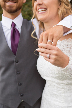 ring and hands detail
