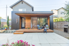 Outside Architecture Addition Exterior