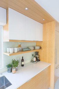 Outside Architecture Counter & Shelves