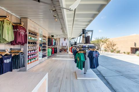 Baseballism Container Store Interior