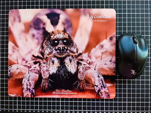 Wolf Spider Mouse Pad