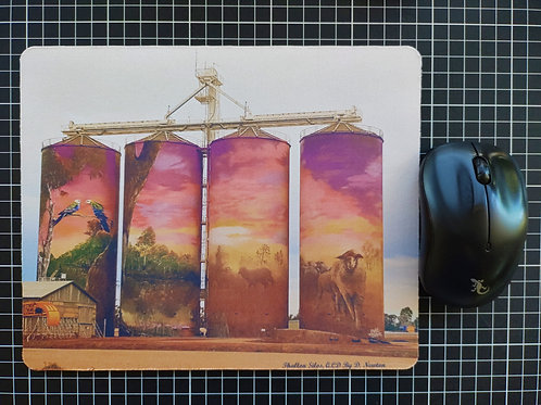 Thallon's Painted Silos, Mouse Pad