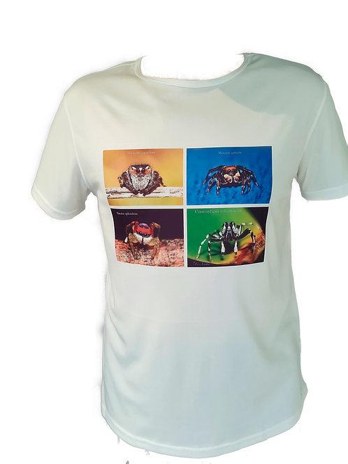 4 Image Tee Shirt