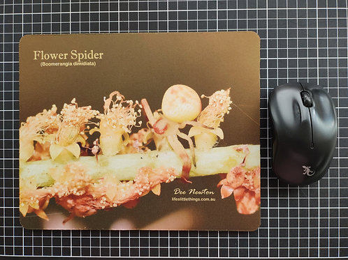 Flower Spider Mouse Pad