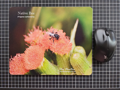 Native Bee Mouse Pad