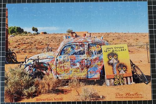 JD Car, Silverton NSW Jigsaw Puzzle